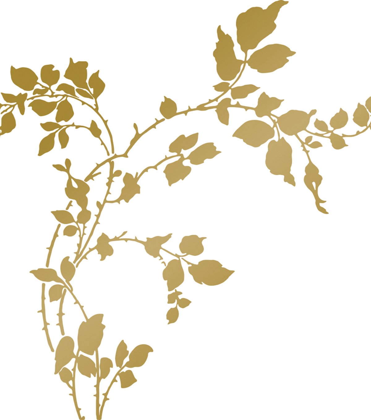 Couture Creations Anna Griffin Hotfoil Plate-Thorny Branches