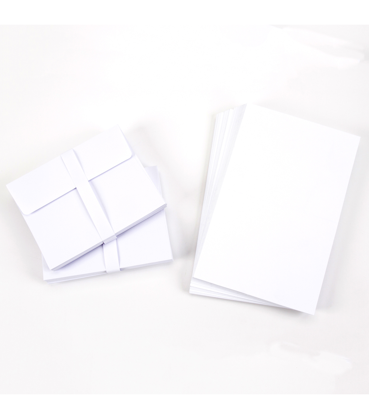 Core\u0027dinations Card/Envelopes:  A2 White; 50 pack
