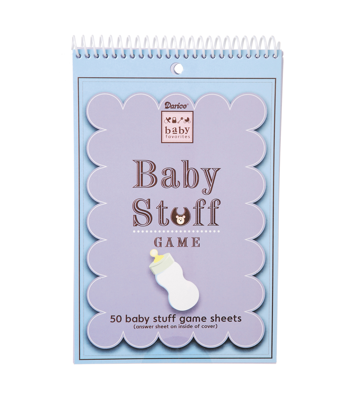 Baby Stuff A to Z Game Sheets - 50 count