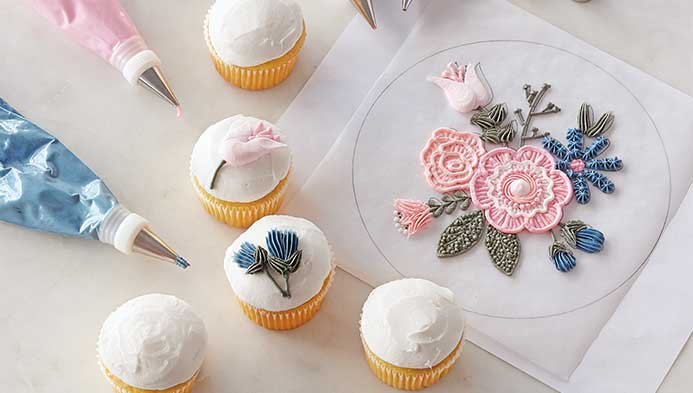 Colorful Icing Techniques