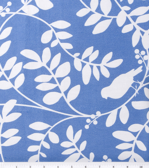 Home Decor 8''x8'' Fabric Swatch-DwellStudio Botany Flora Hydrangea