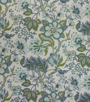 Richloom Studio Print Fabric 54\u0022-Crawford Azure