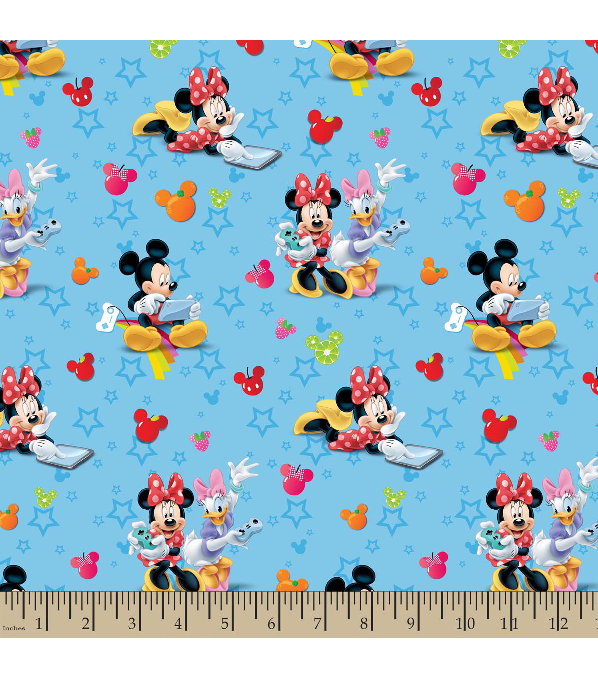 Disney® Mickey Mouse Cotton Fabric 43\u0022-Playtime