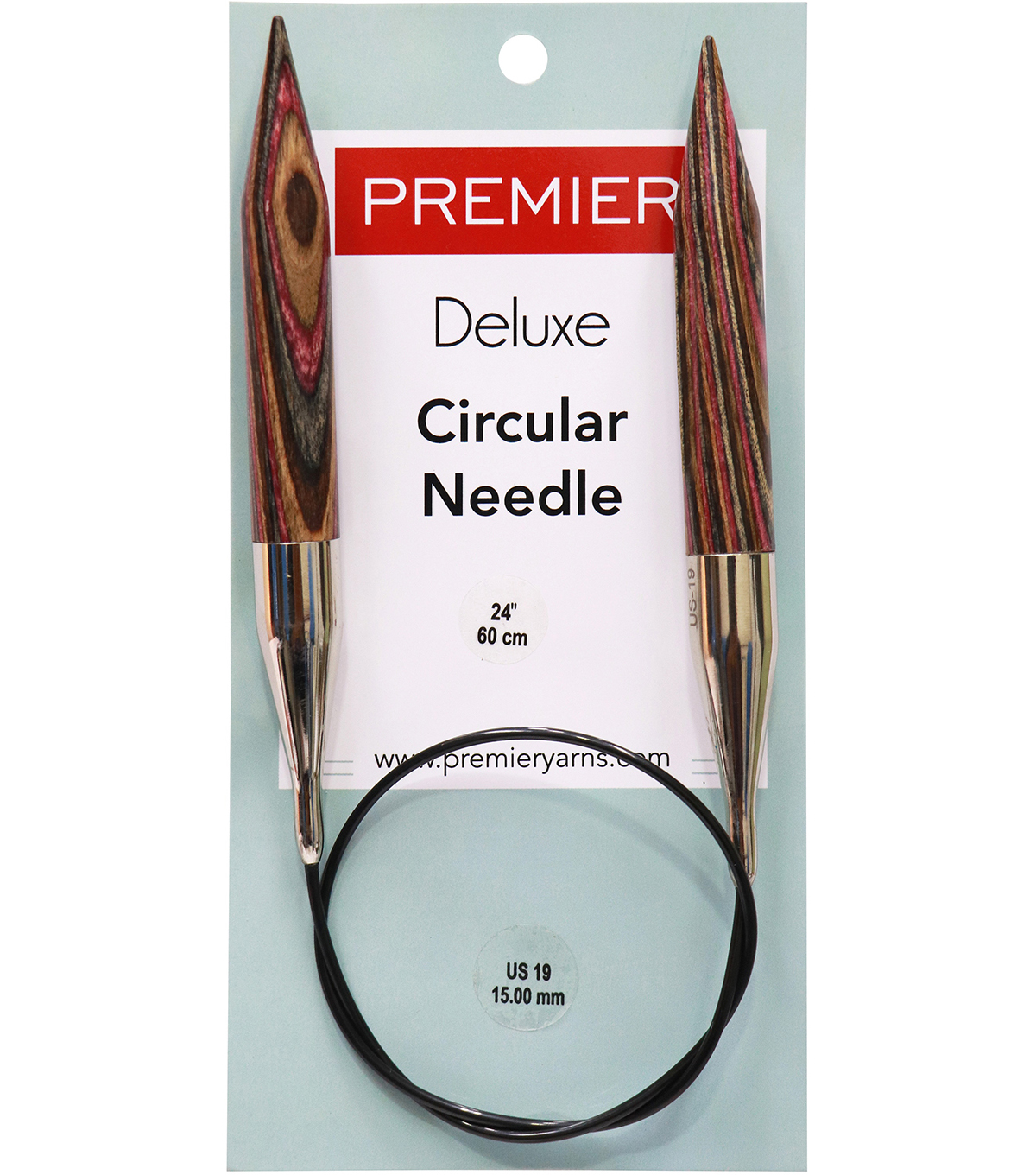 Deborah Norville Fixed Circular Needles 24'' Size 19/15.0mm