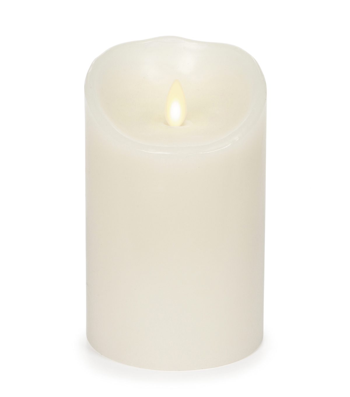 Luminara® Candle & Light Collection Luminara 5In  Ivory Timer Vanilla Scent