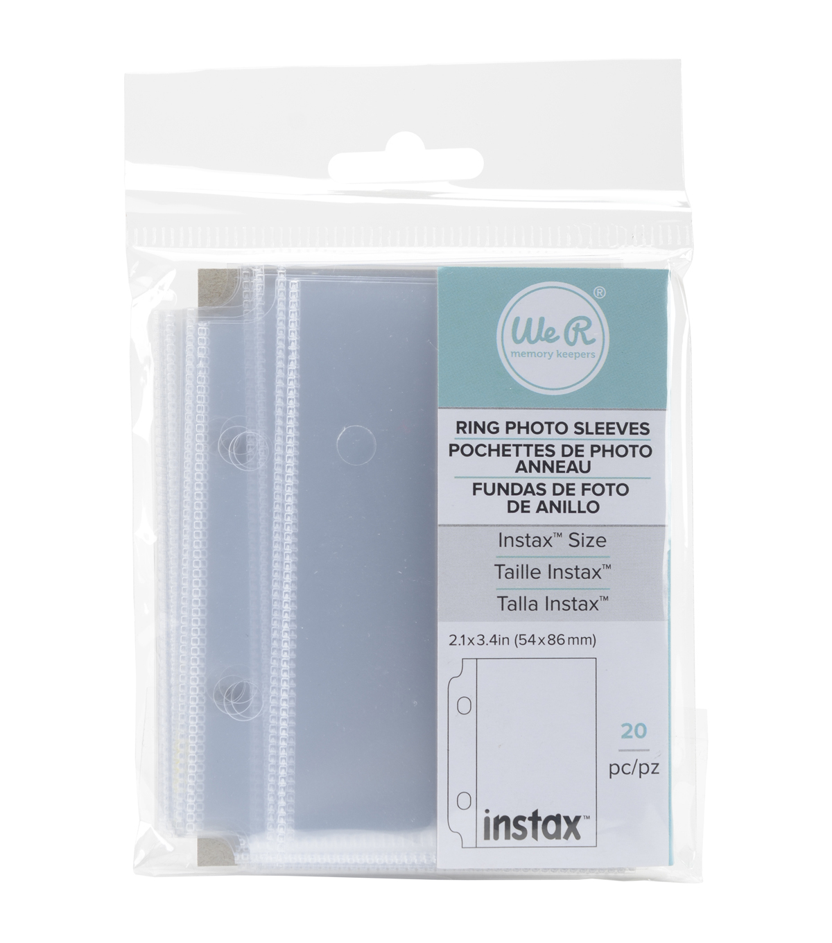 We R Memory Keepers™ Fujifilm Instax Photo Sleeve Protectors