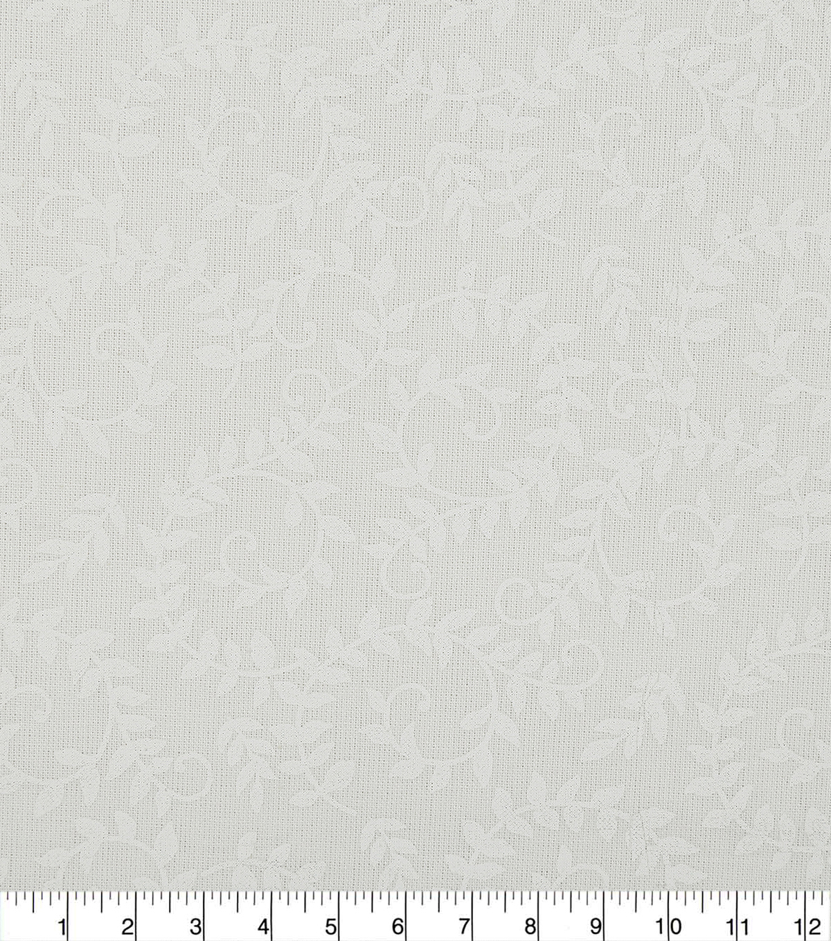 Wide Quilt Cotton Backing Fabric 108\u0022-White Scroll