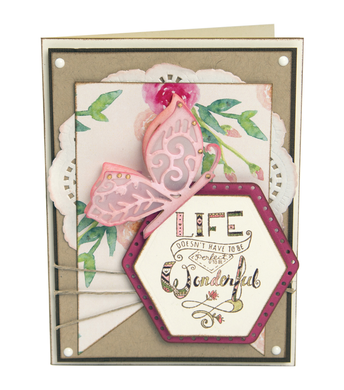 Sizzix® Framelits™ Dies with Stamps-Thanks For Being You