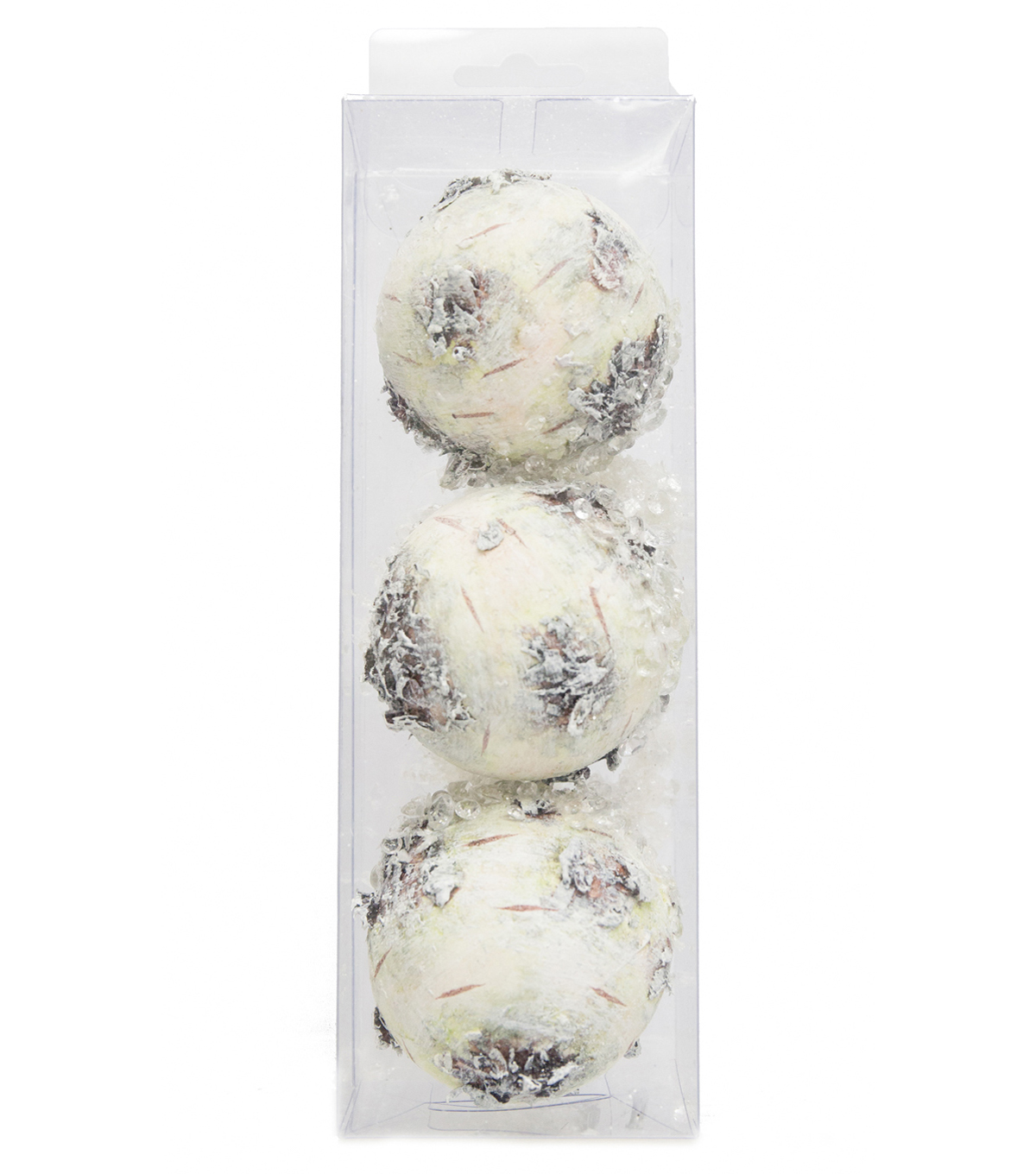 Blooming Holiday 2\u0027\u0027 Birch Balls In Box