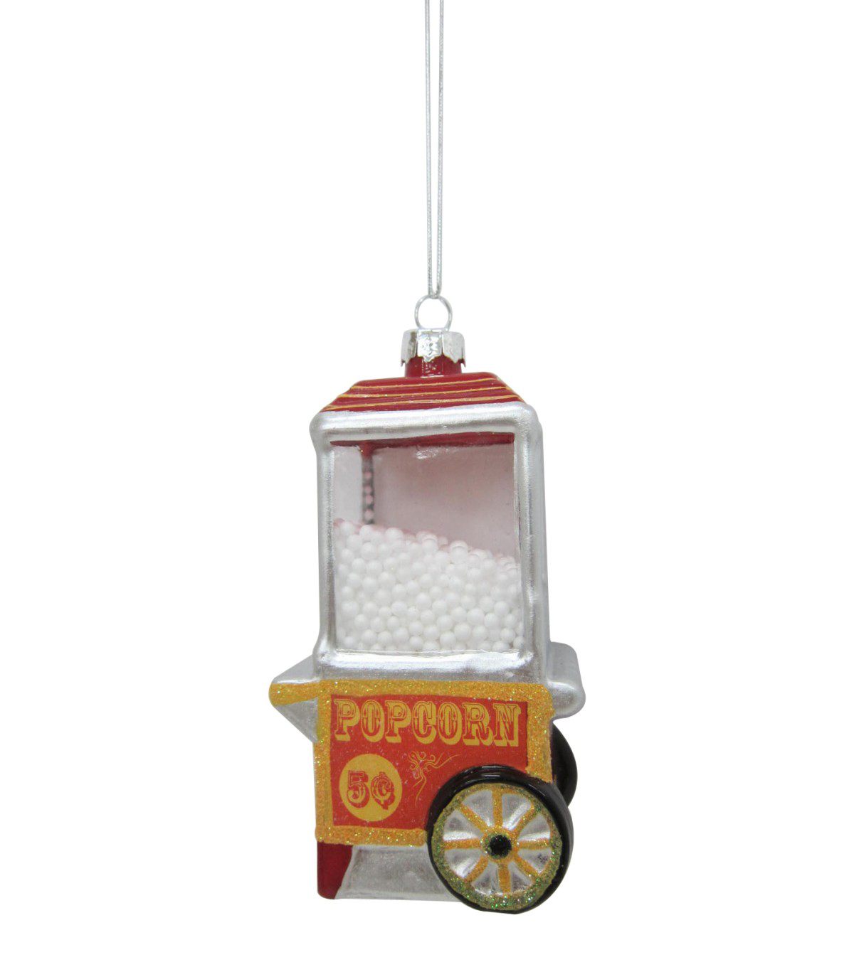 Maker's Holiday Christmas Popcorn Machine Ornament