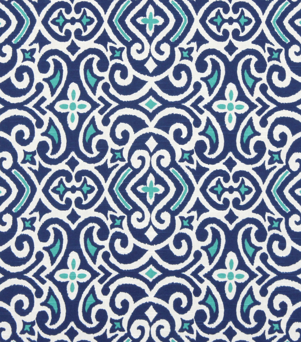 "Robert Allen @ Home Print Fabric 54""-New Damask Marine"