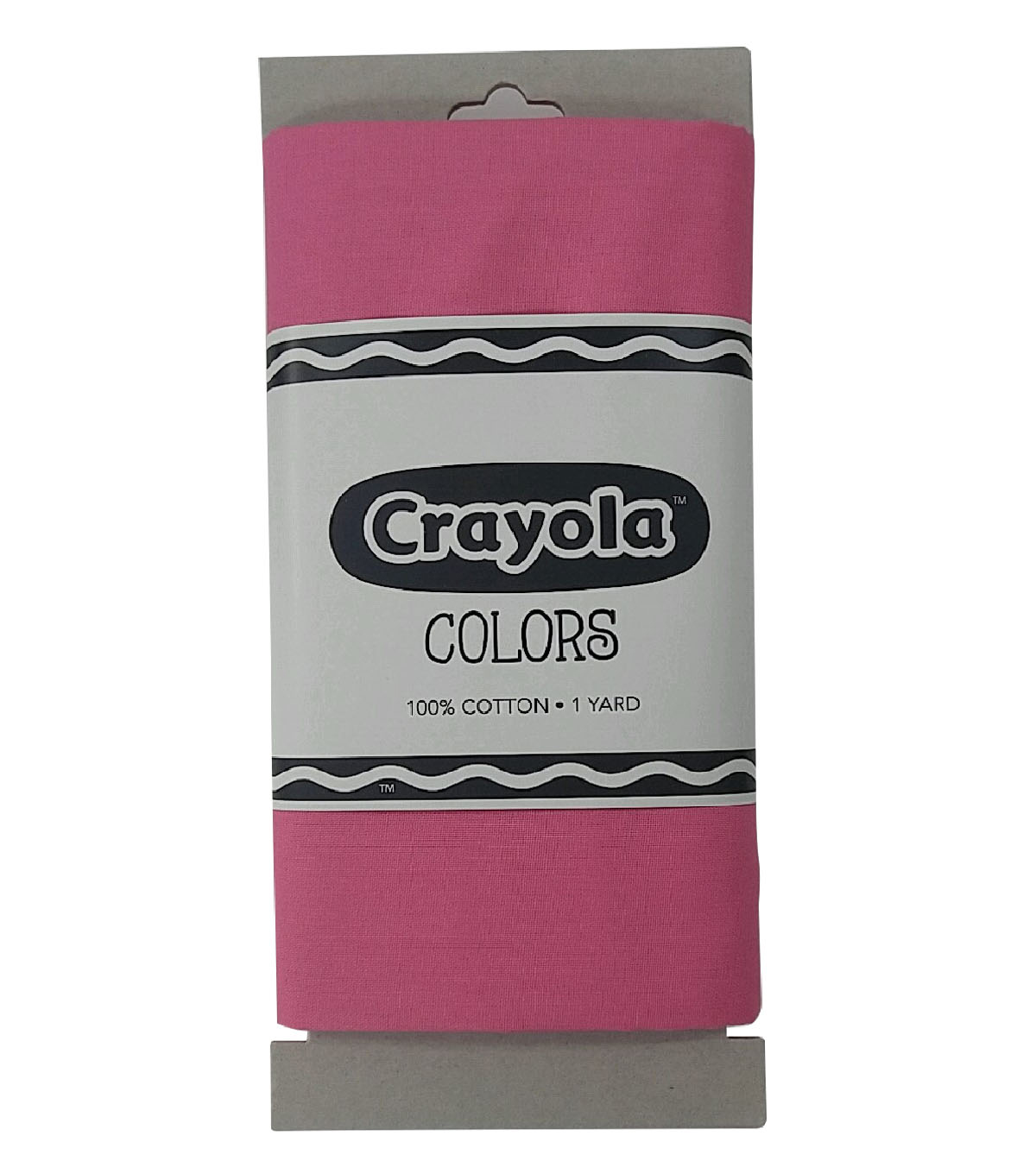 Riley Blake© Crayola® Fabric 1yd Cut-Tickle Pink