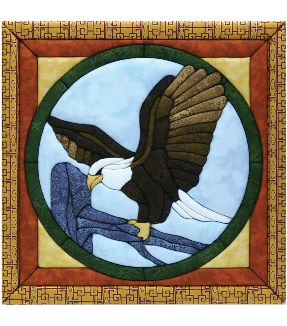 Eagle Quilt Magic Kit-12\u0022X12\u0022