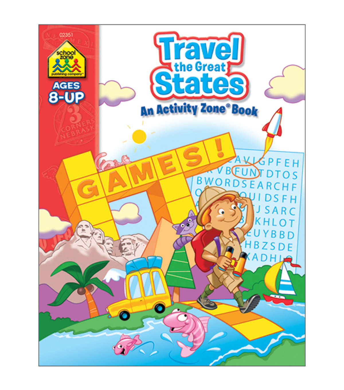 Workbooks-A-Z Travel The Great States