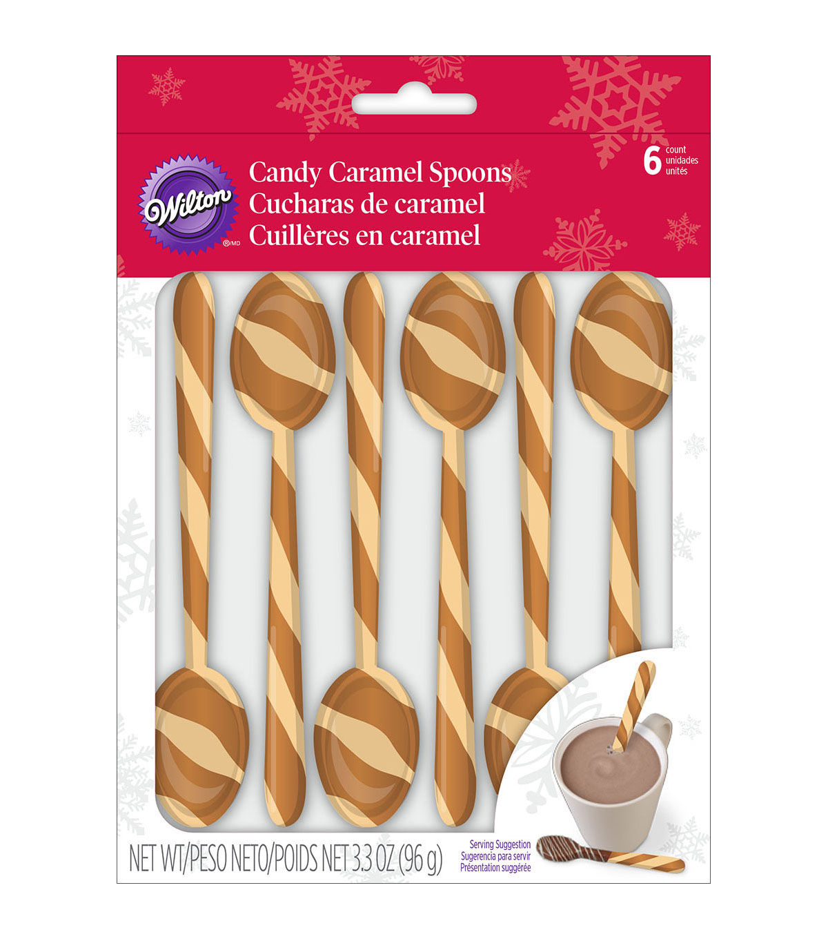 Wilton® Pack of 6 Candy Caramel Spoons