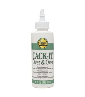 Aleene\u0027s Tack-It Over & Over Liquid Glue-4oz
