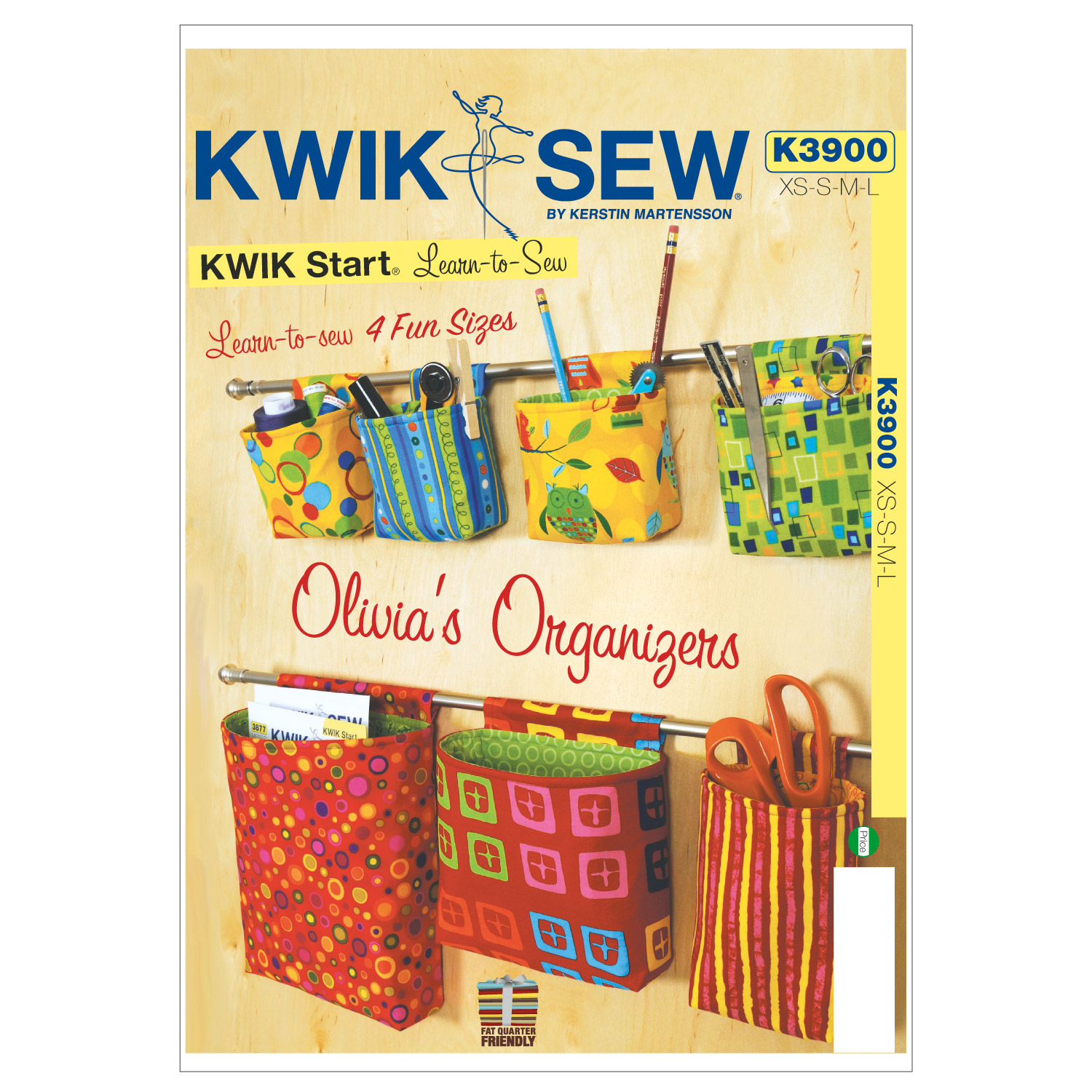 Kwik Sew Crafts Home Accessory-K3900