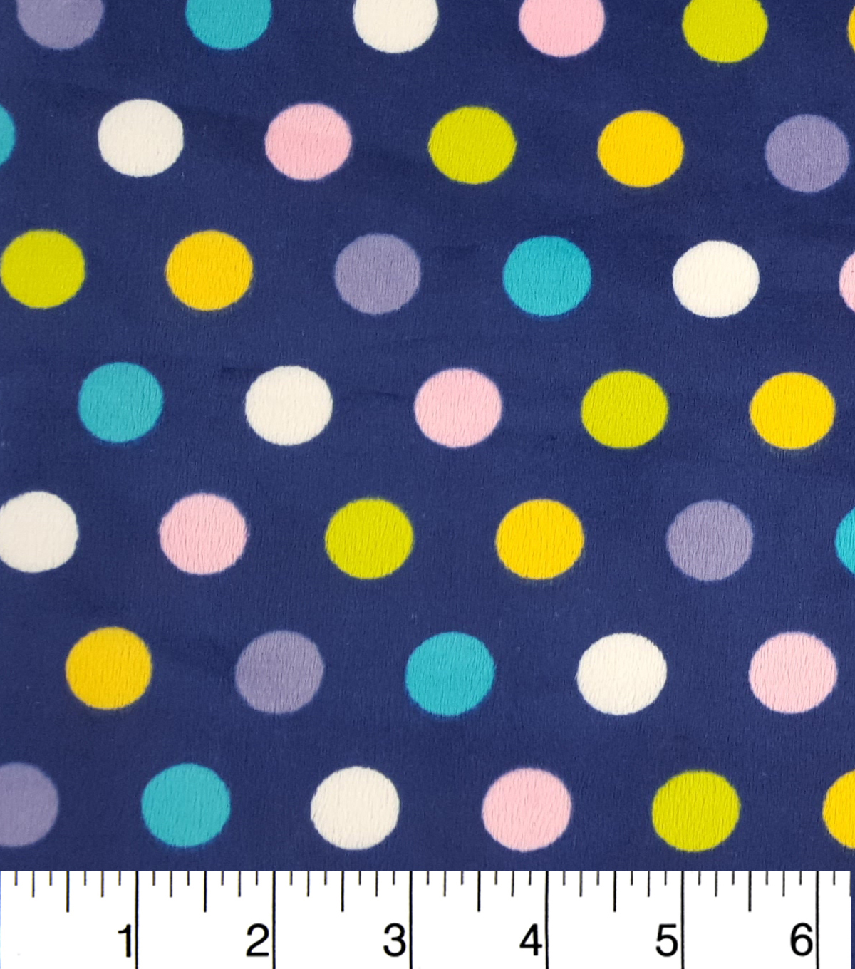 Soft N Comfy Fabric 57\u0022-Fresh Dots