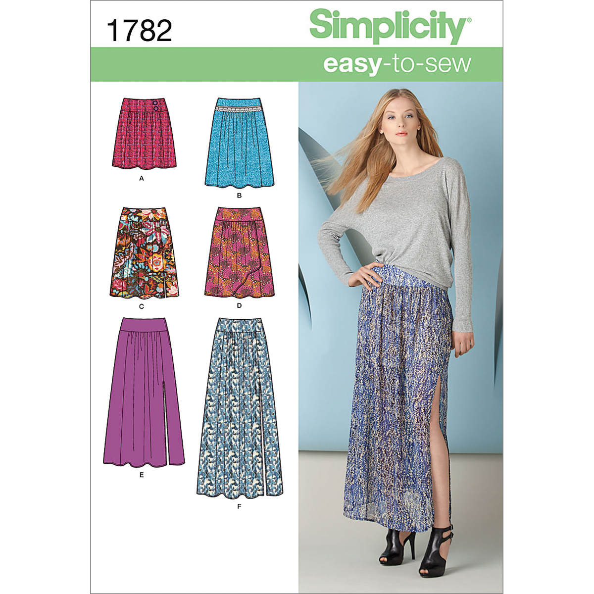 Simplicity Pattern 1782R5 14-16-18-2-Simplicity Pattern