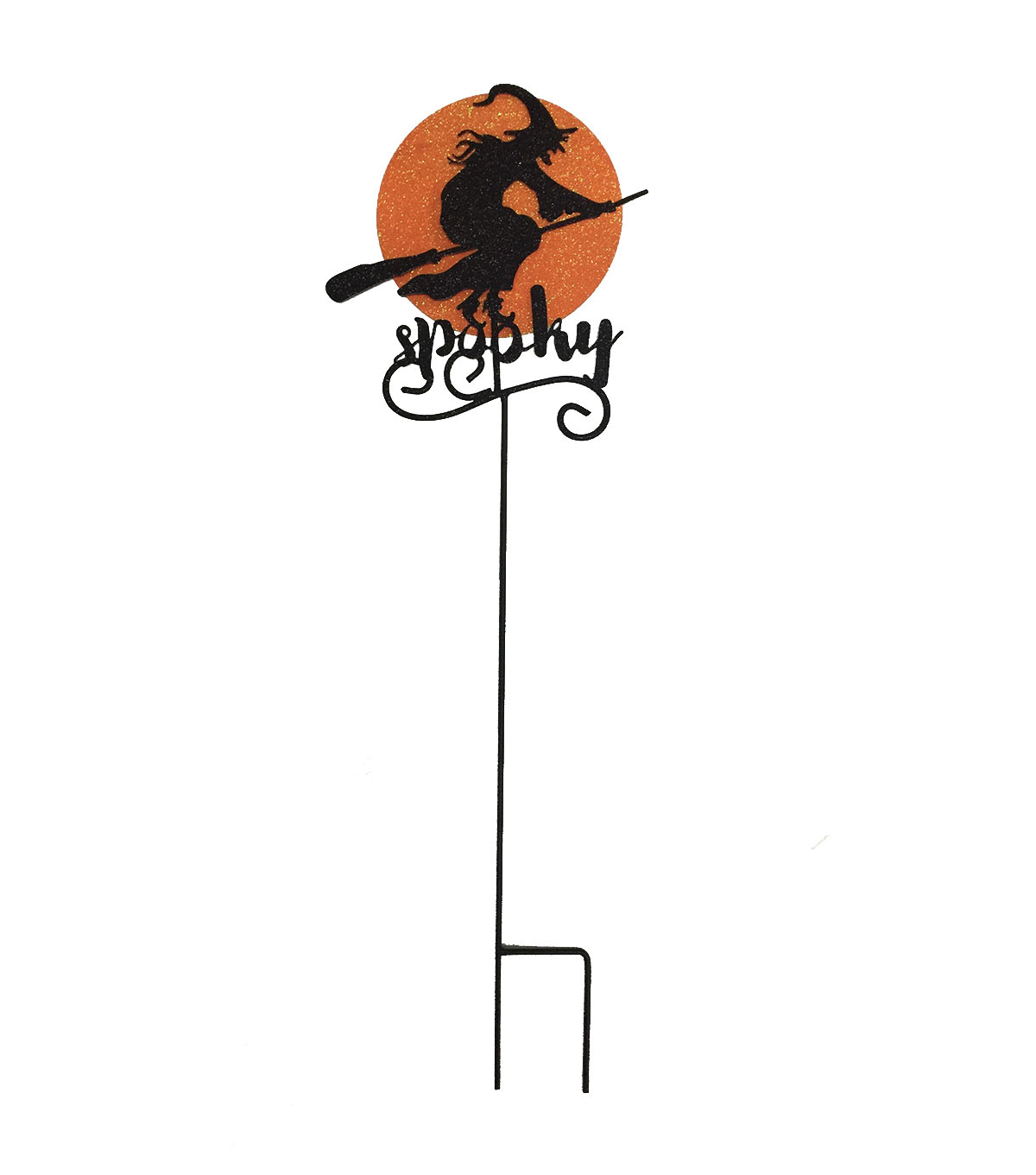 Maker's Halloween Metal Witch Yard Stake-Spooky