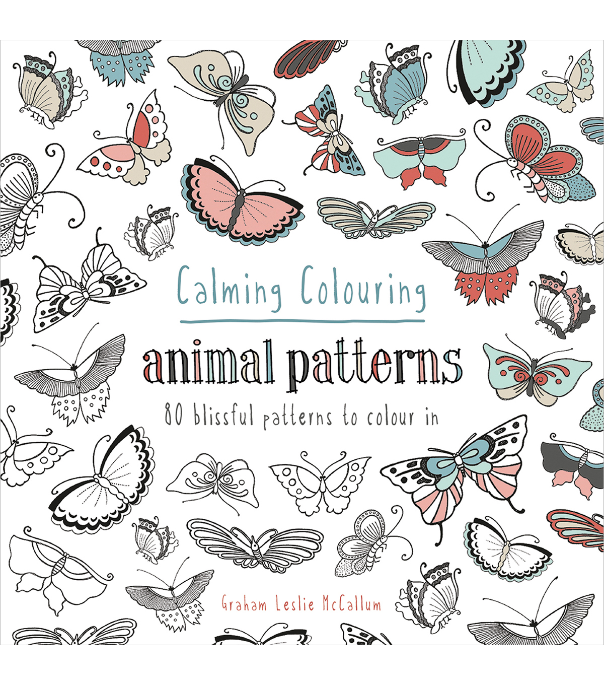Pavilion Books Calming Coloring Animal Patterns Book