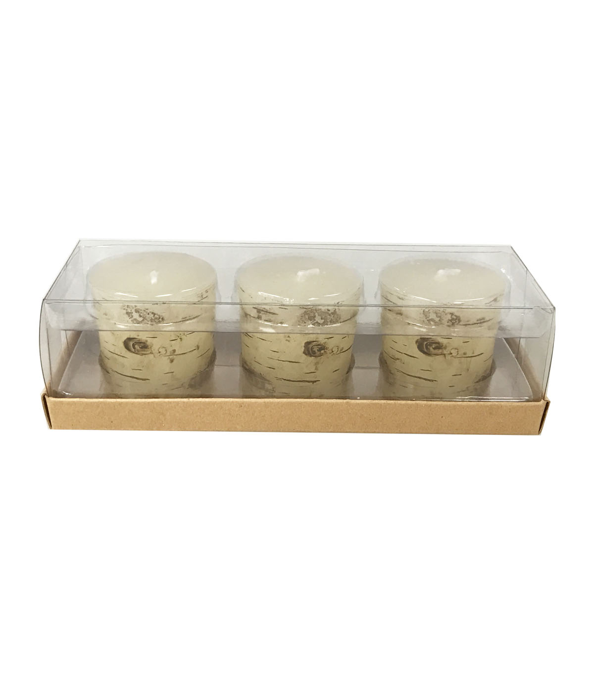 Fall Into Color 3 Pack 1.7\u0027\u0027x1.7\u0027\u0027 Votive Candles-Birch
