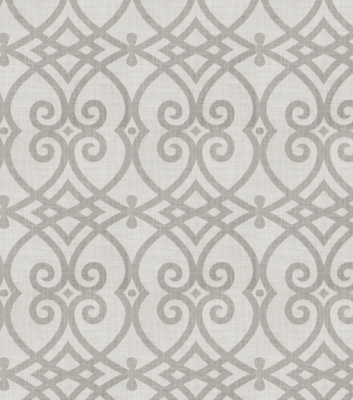 Jaclyn Smith Upholstery Fabric 54u0022 Gatework Rot Dove Gray
