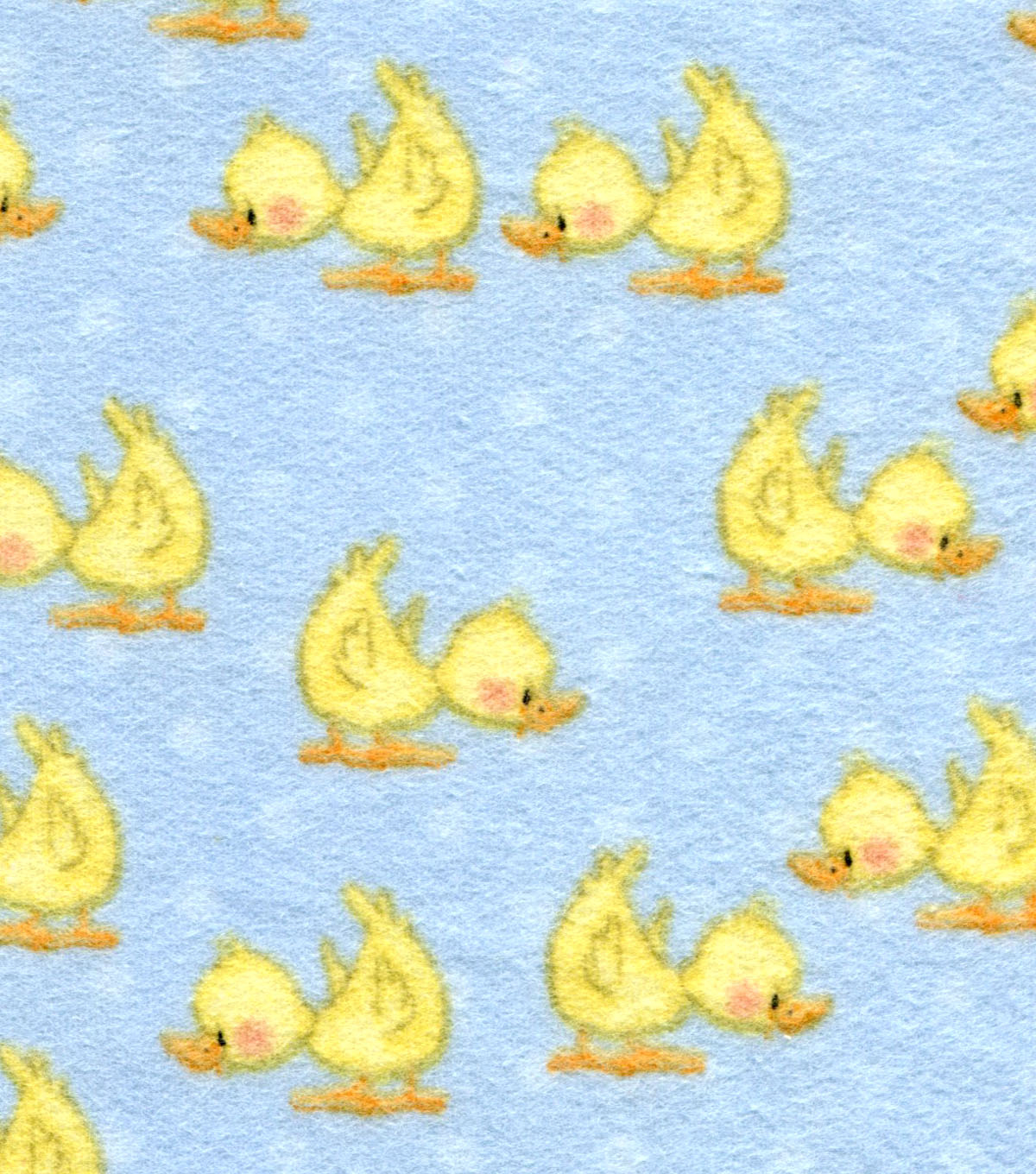 Nursery Cotton Fabric 44\u0022-Duckies