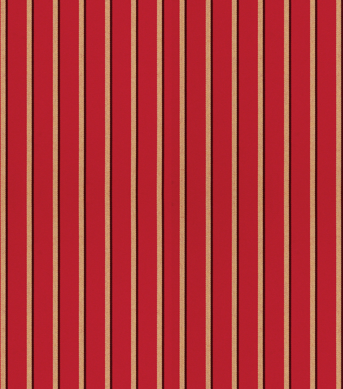 "Sunbrella Outdoor Stripe Fabric 54""-Harwood Crimson"