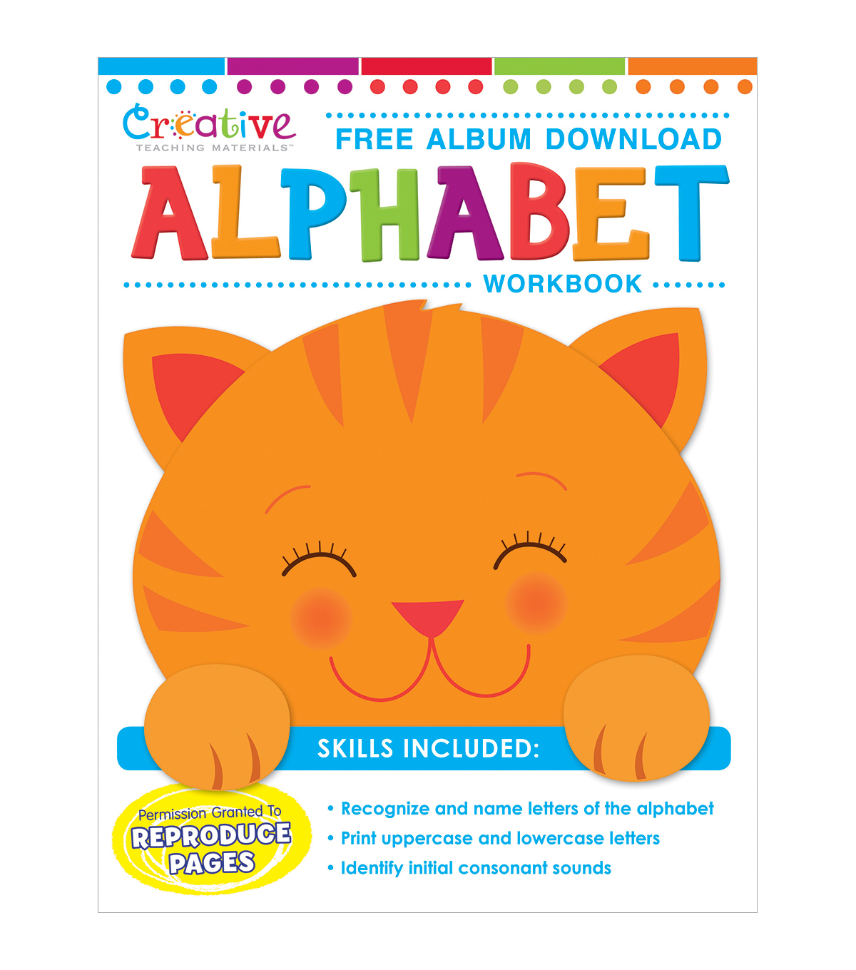 Creative Teaching Materials Workbook-Alphabet