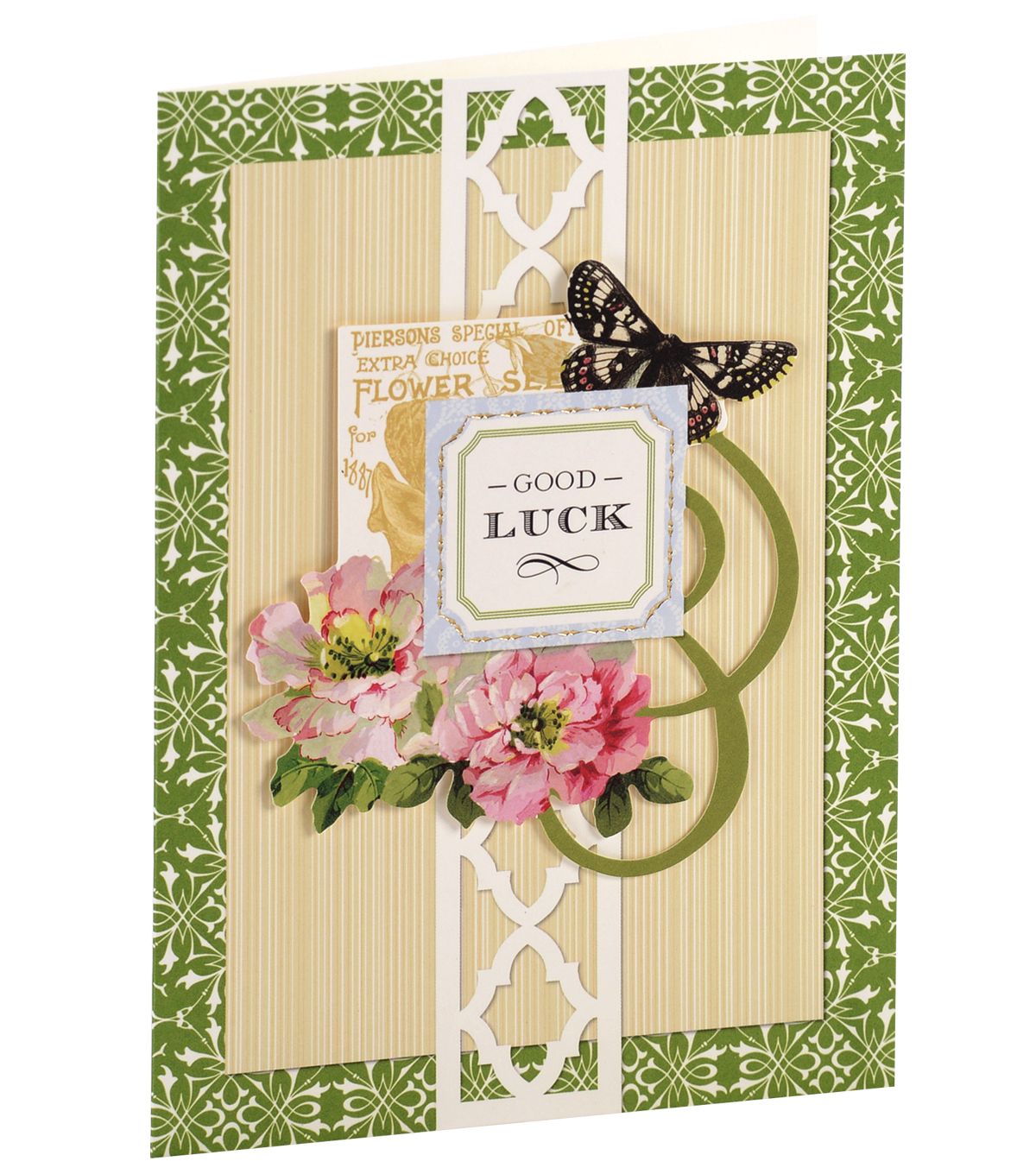 Anna Griffin Card Kit Good Luck Garden