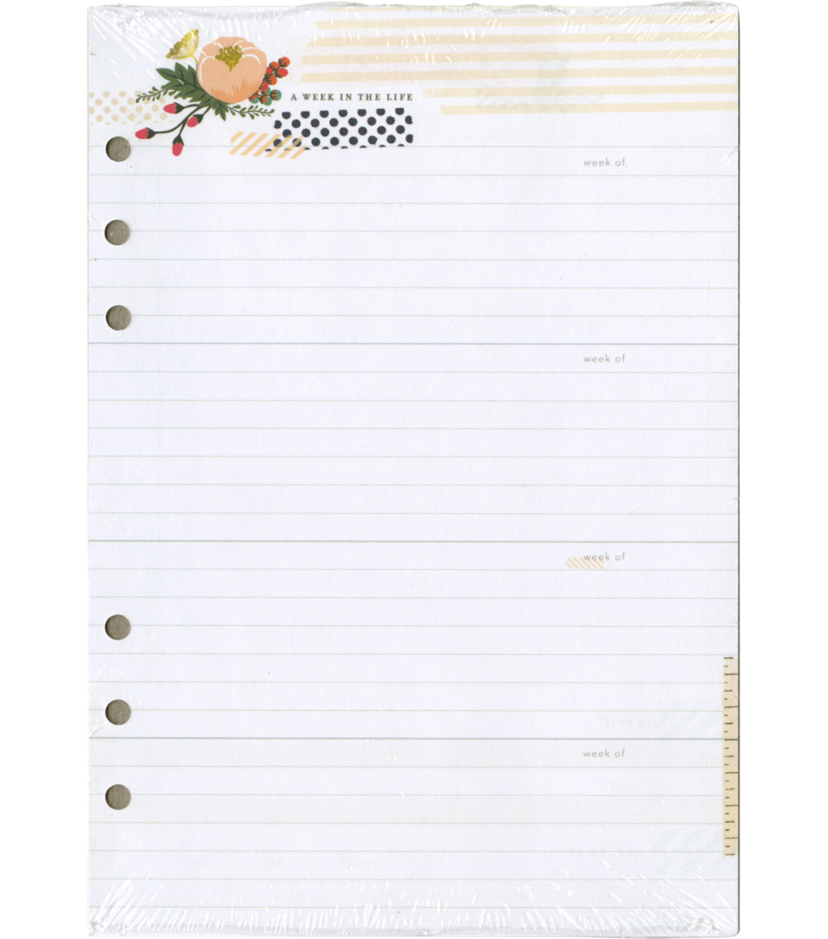 A5 Personal Planner Double-Sided Inserts-Memory Keeping