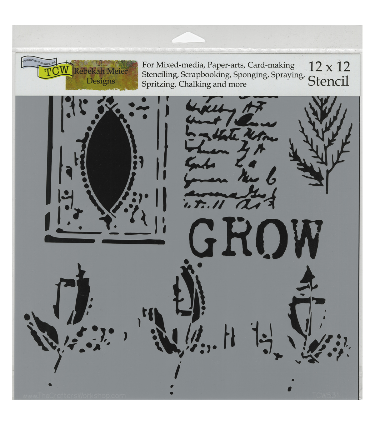 Crafter\u0027s Workshop Grow Page Template 12\u0027\u0027x12\u0027\u0027