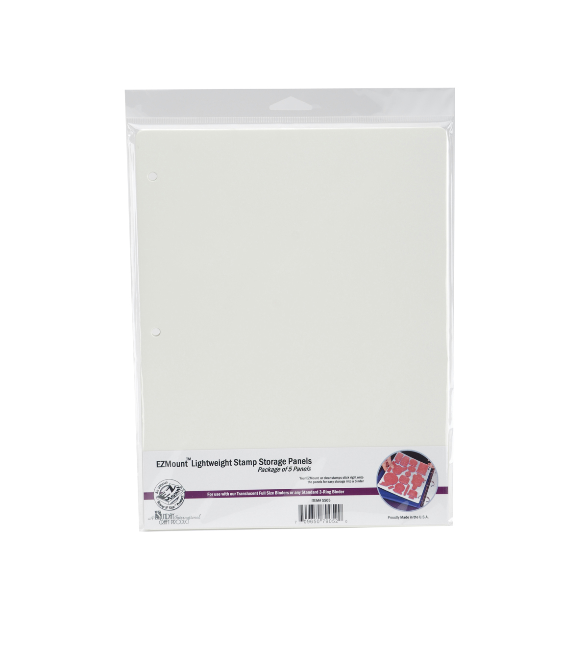 EZMount Lightweight Stamp Storage Panels 5/Pkg-8.5\u0022X11\u0022