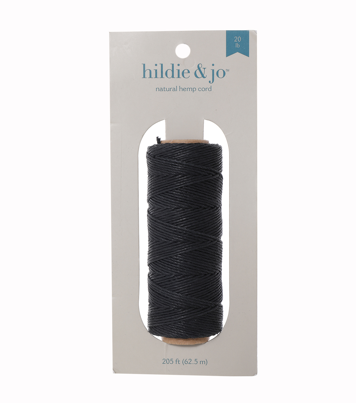 Hemp Spool 20lb 205\u0027-Black