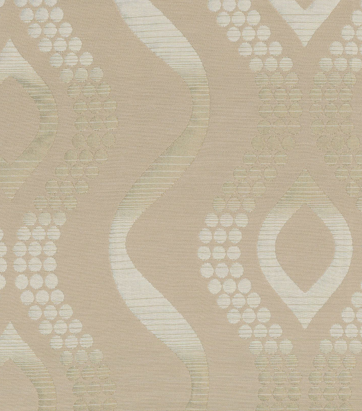 "Home Decor 8""x8"" Fabric Swatch-Elite Caprizzio Cream"
