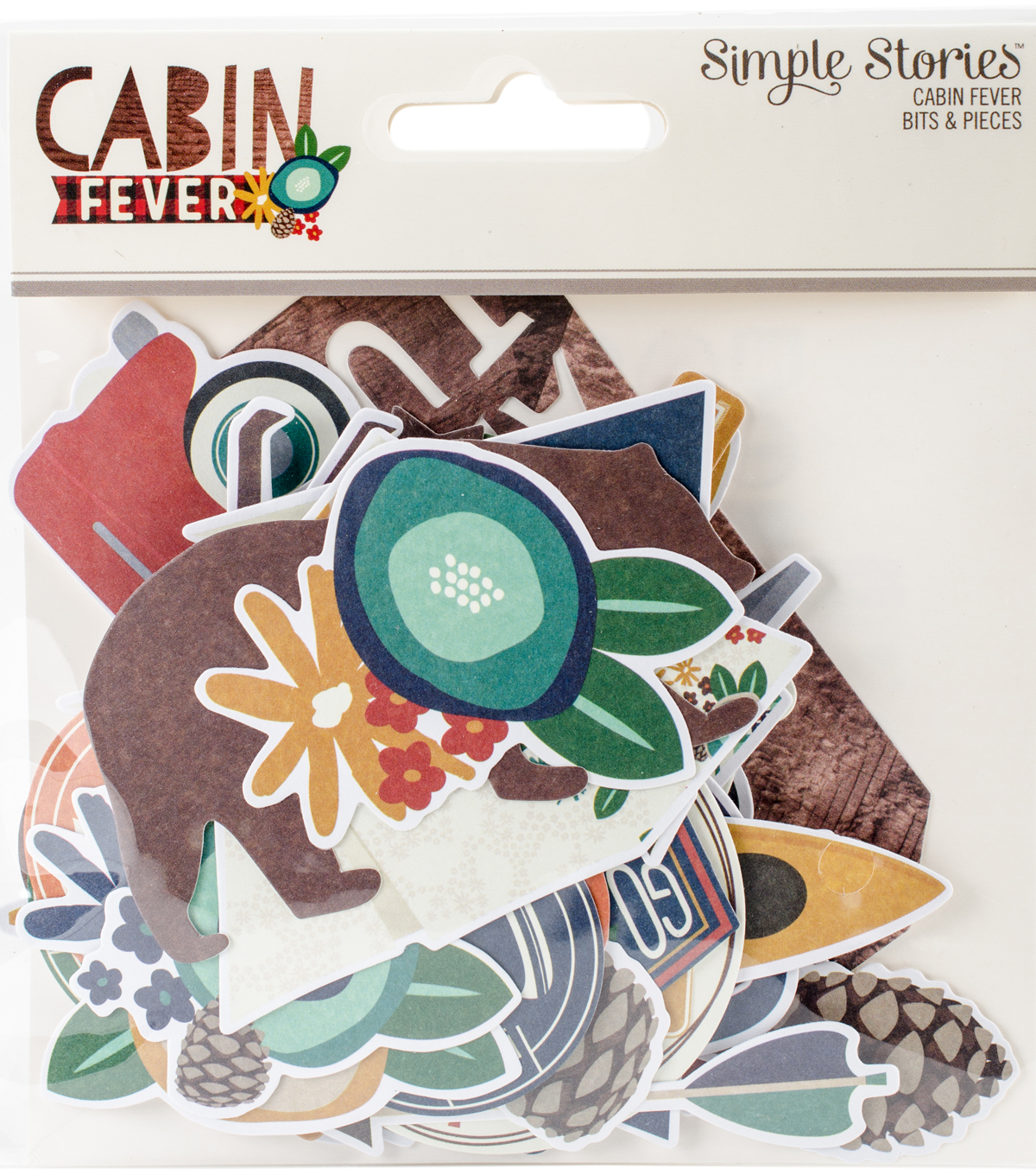 Cabin Fever Bits & Pieces Die-Cuts