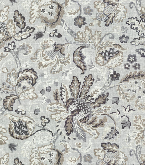 P/K Lifestyles Upholstery Fabric-Conservatory Retold/Sterling