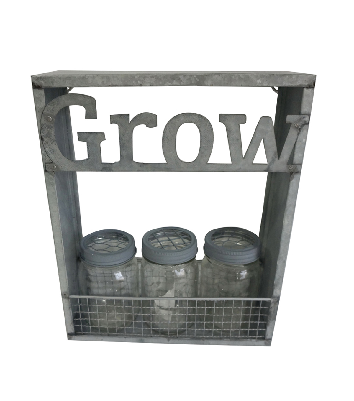 Bloom Room Metal Grow Vertical Planter