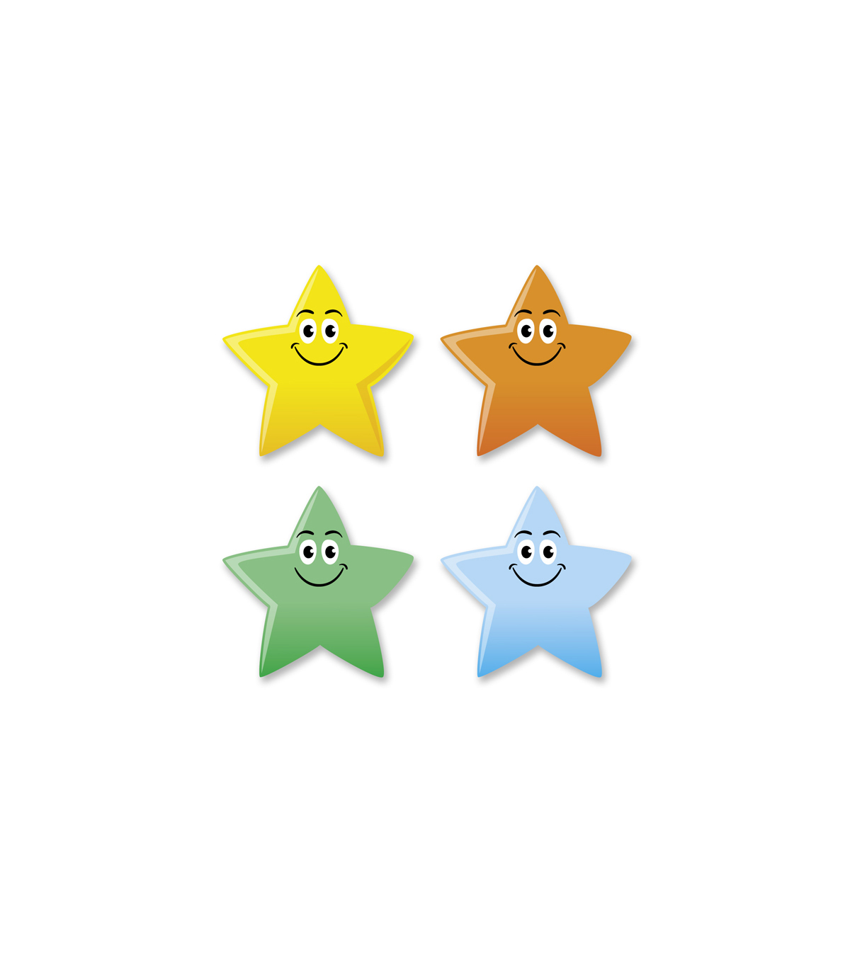 Busy Kids Learning Sticker Packs-Smiley Star