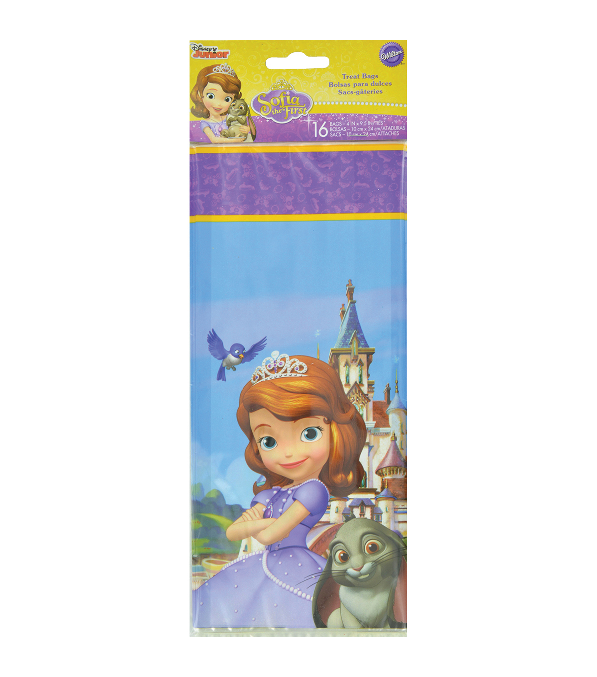Wilton® Treat Bags-Sofia The First 16/Pkg
