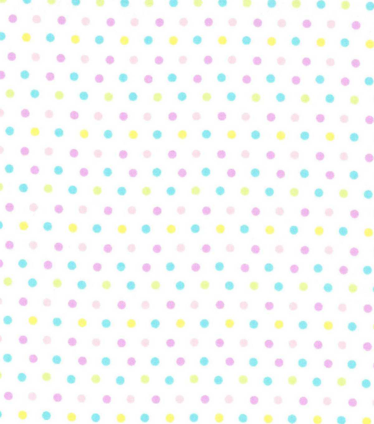 Easter Cotton Fabric-Easter Dots Multi
