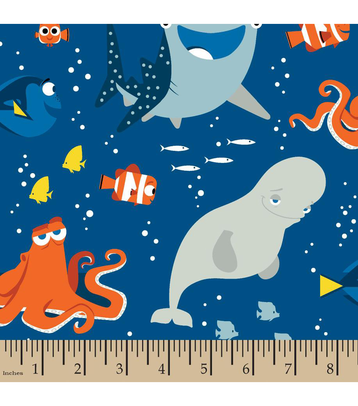 "Disney® Finding Dory Cotton Fabric 43""-Friends"