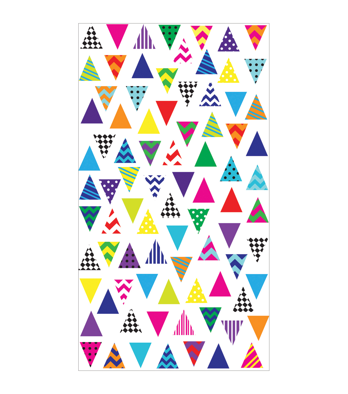 Sticko Classic Stickers Trendy Triangles