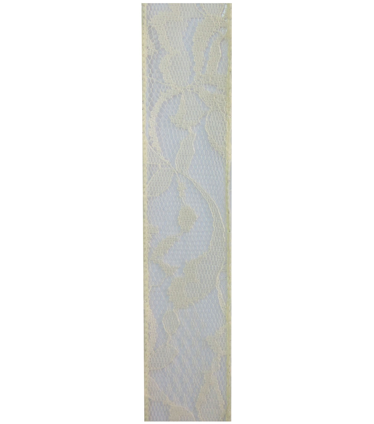 Decorative Ribbon 1.5\u0027\u0027x15\u0027 Lace Ribbon-Ivory
