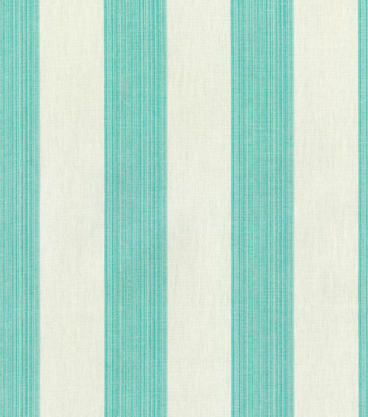 Williamsburg Upholstery Fabric 54\u0022-Stratford Stripe/Peacock