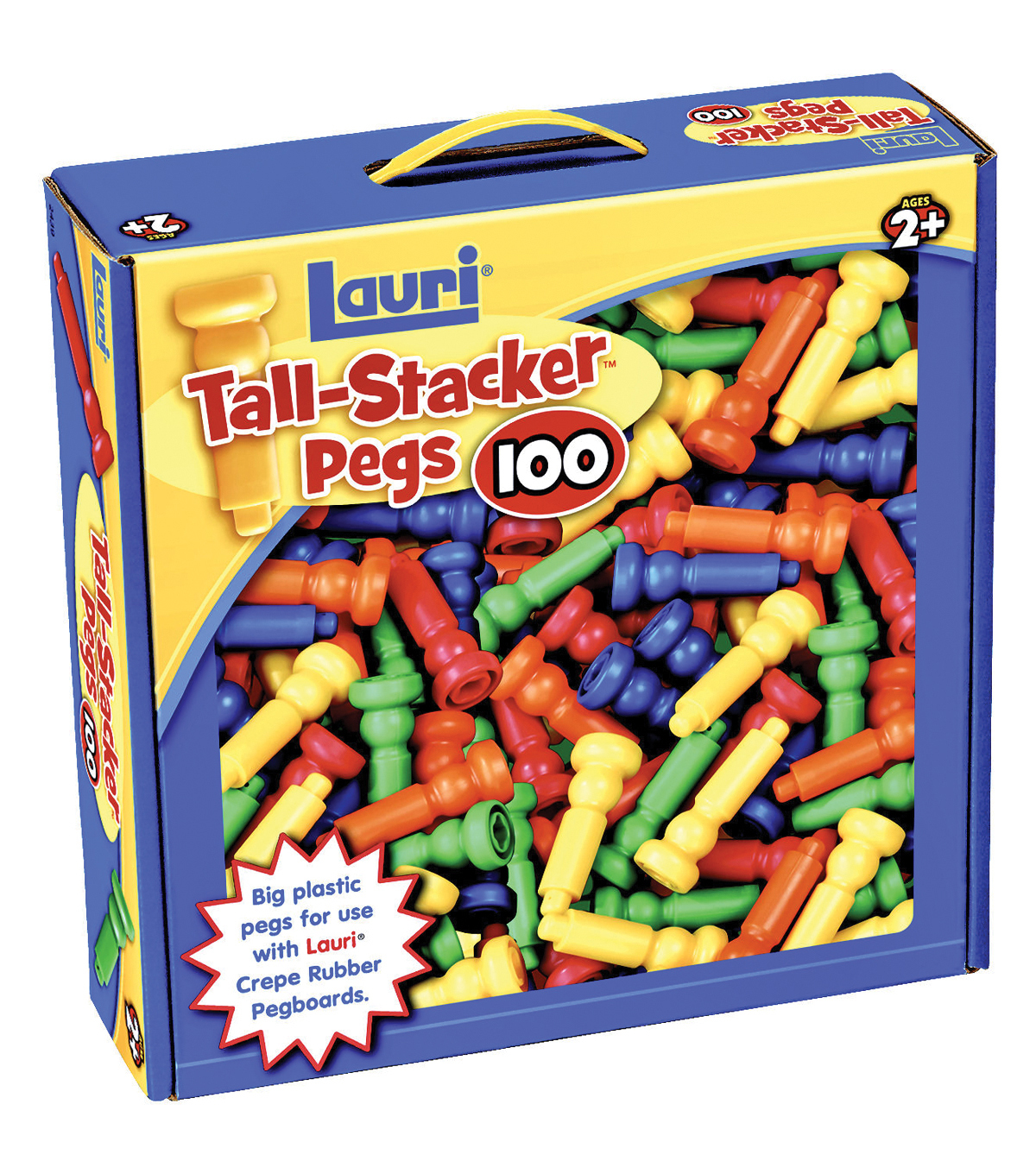 Tall Stacker Pegs Only 100/Pkg-