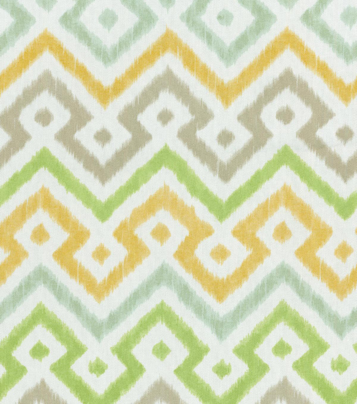 "Home Decor 8""x8"" Swatch Fabric-Waverly Painted Meadow Sterling"