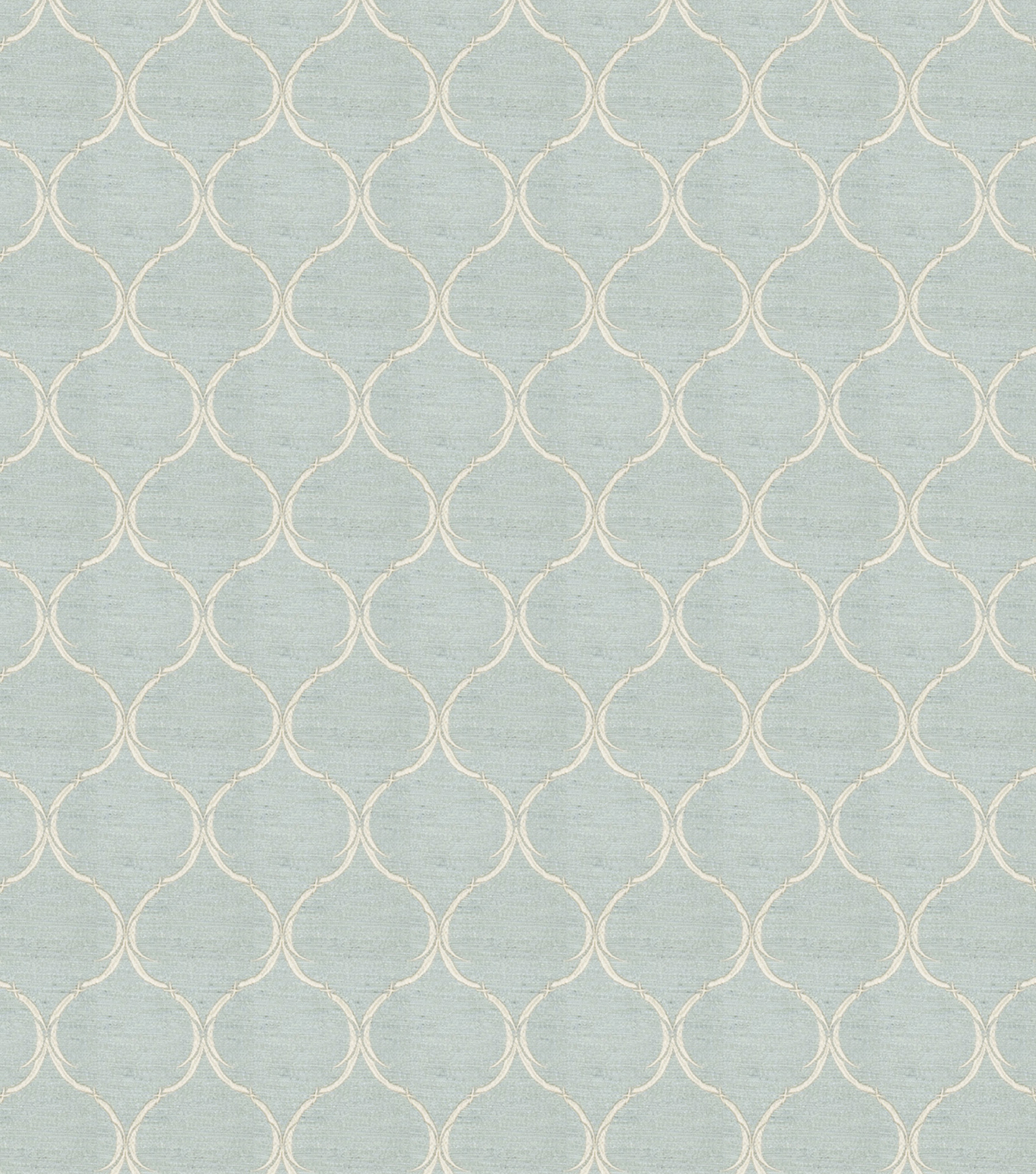 "Eaton Square Print Fabric 54""-Biscuit/Ice Blue"