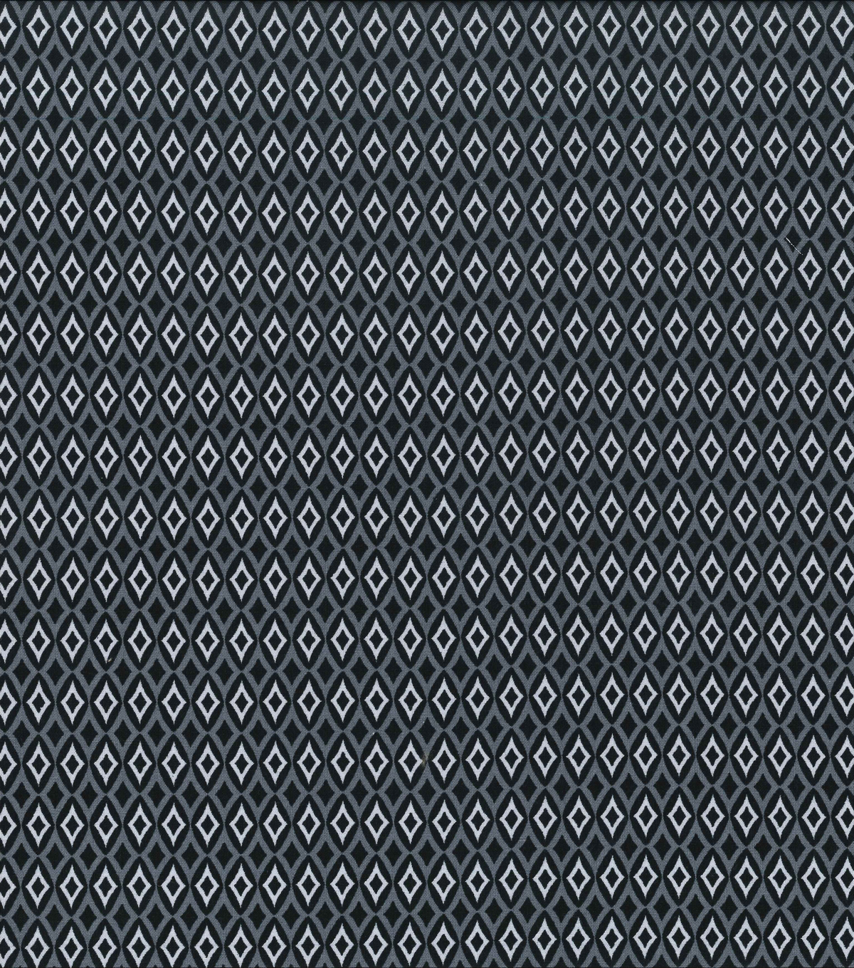 "Keepsake Calico™ Cotton Fabric 43""-Blk Diamond Geometrics"